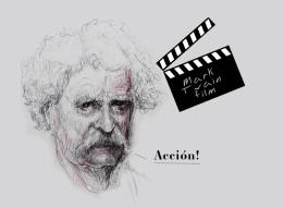 'Mark Twain film', por le frère.