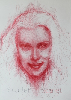 'Scarlett Johansson', por le frère.