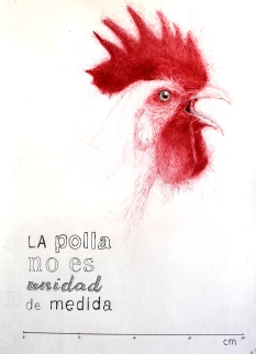 'La polla no es unidad de medida', por le frère.